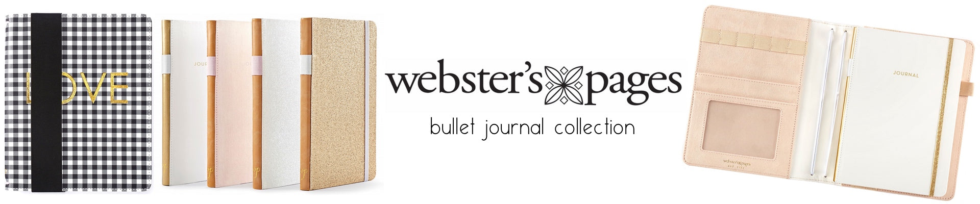 WEBSTER'S PAGES COLOR CRUSH BULLET JOURNAL COVERS AND NOTEBOOKS