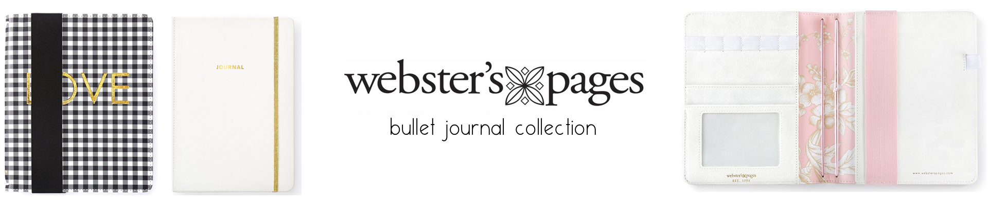 WEBSTER'S PAGES A5 TRAVELER'S NOTEBOOK COVERS / BULLET JOURNALS