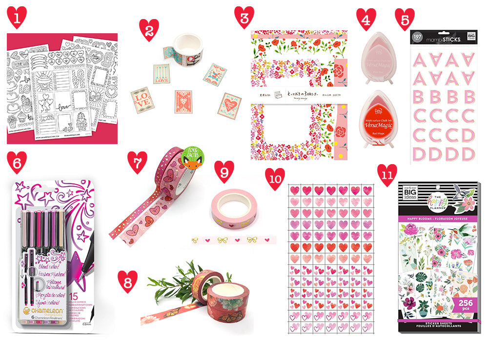 washigang staff picks valentines love