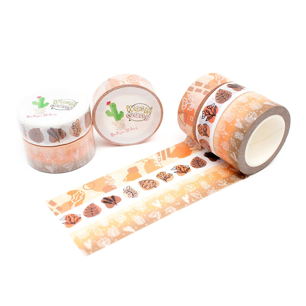 Autumn Melody Roxpaperstickers WashiGang washi tapes