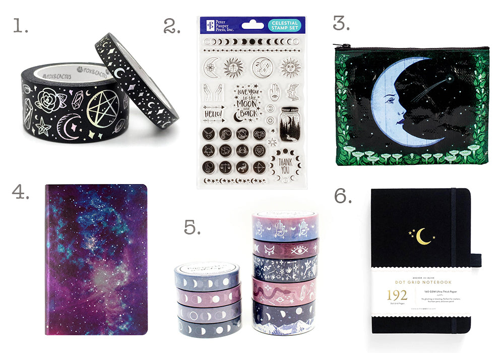 mystic galaxy witchy gift guide