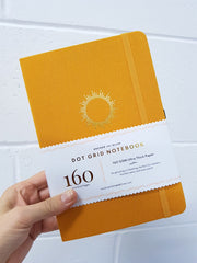 A5 DOT GRID NOTEBOOK : MORNING SUN