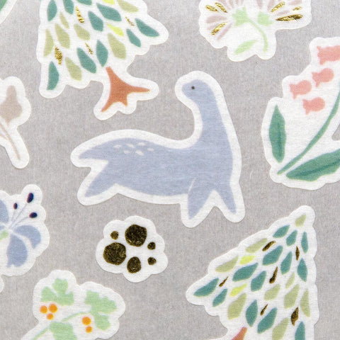 YAMA LIFE WASHI PAPER STICKERS : LAKE CREATURE