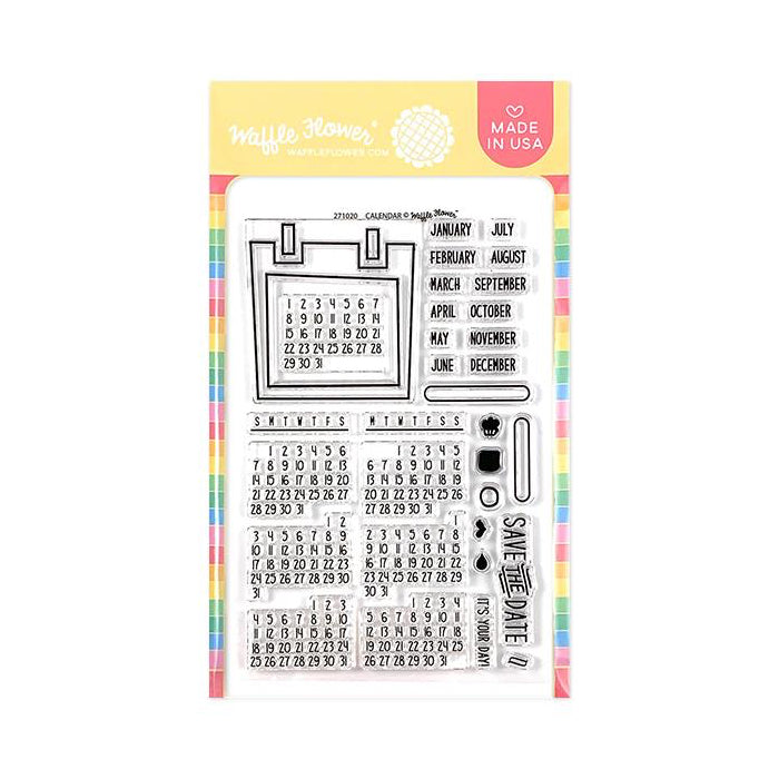 CLEAR STAMPS : CALENDAR
