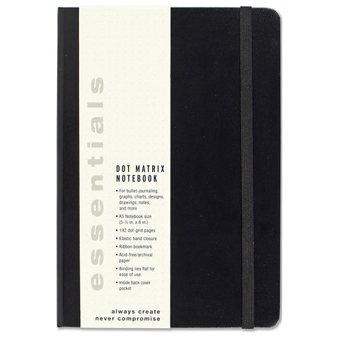 ESSENTIALS A5 DOT GRID NOTEBOOK