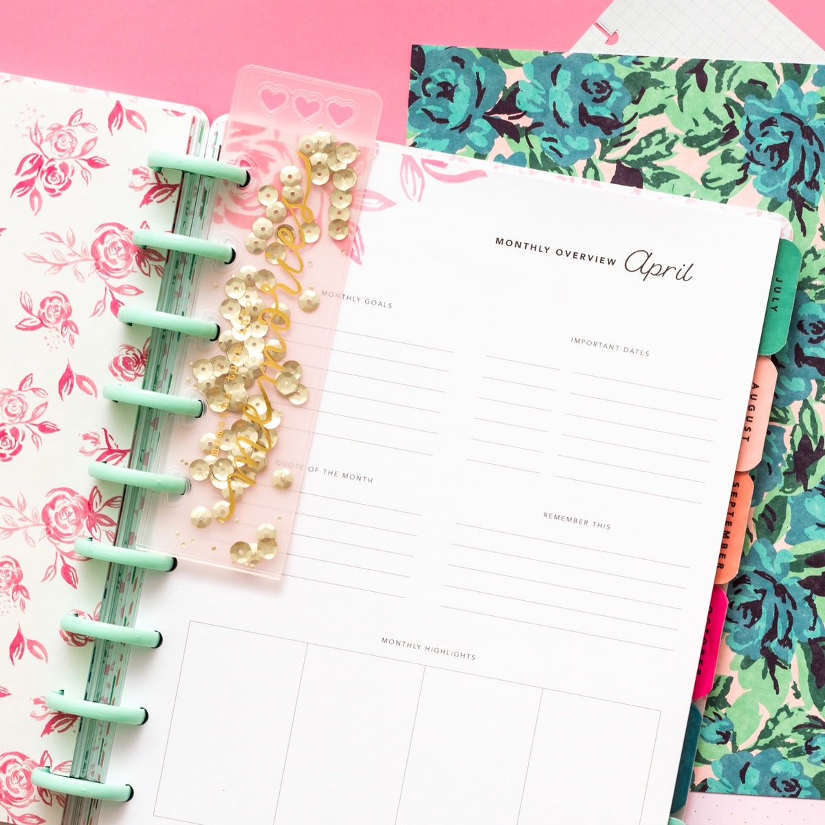 MAGGIE HOLMES DAY-TO-DAY PLANNER BOOKMARK
