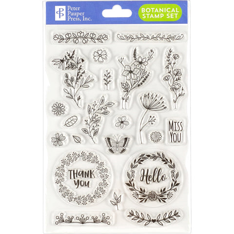 BOTANICAL CLEAR STAMPS