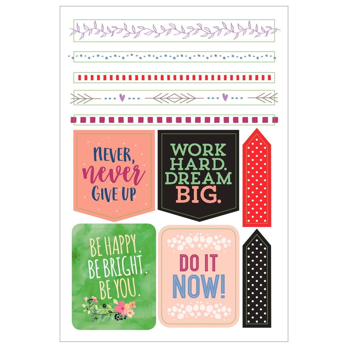 PLANNER STICKERS : SHE BELIEVED SHE COULD