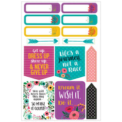PLANNER STICKERS : WAKE UP, KICK ASS