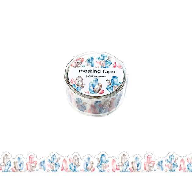 DIE CUT WASHI TAPE : CRYSTALS