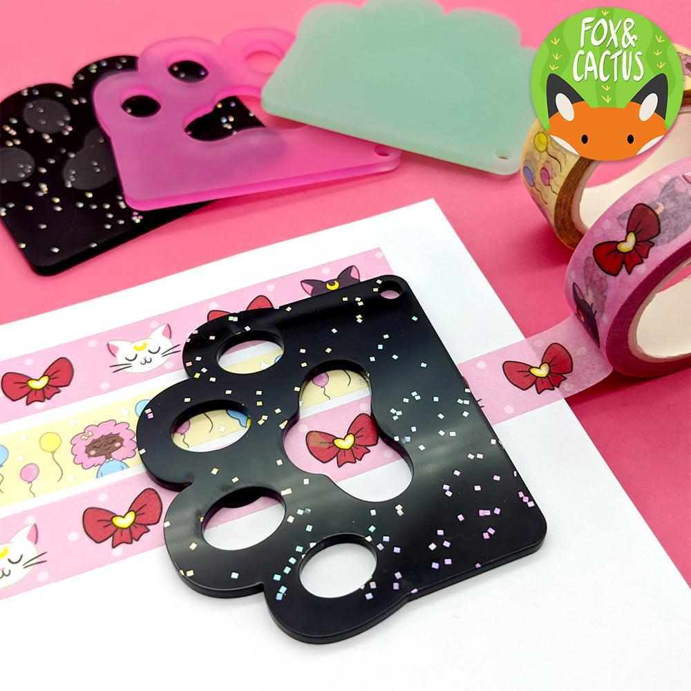 CAT PAW (CUT OUT) WASHI TAPE CUTTER