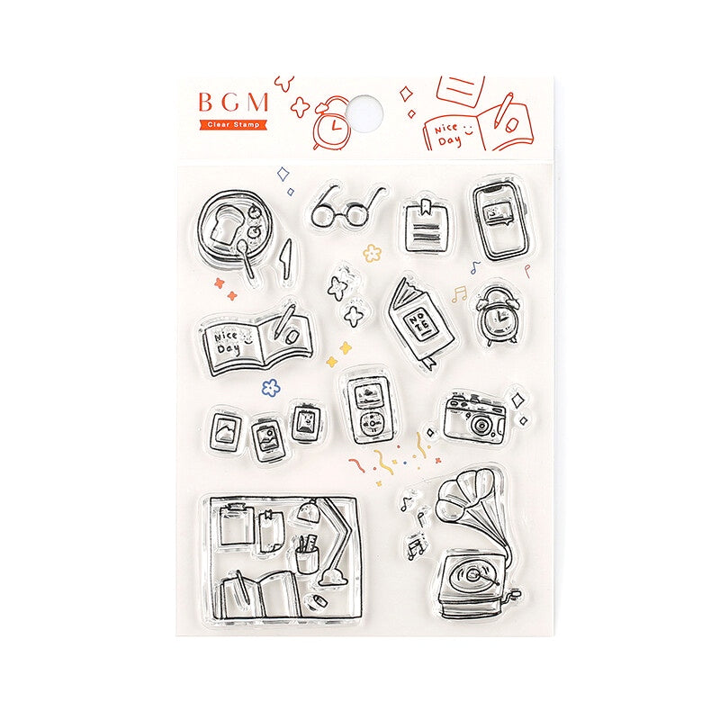 CLEAR STAMPS : HAPPY LIFE