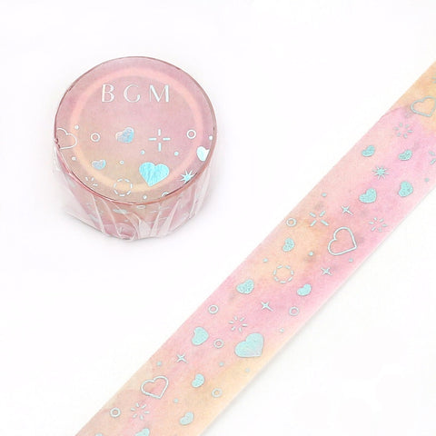 PINK HEART WASHI TAPE - FROM JAPAN!