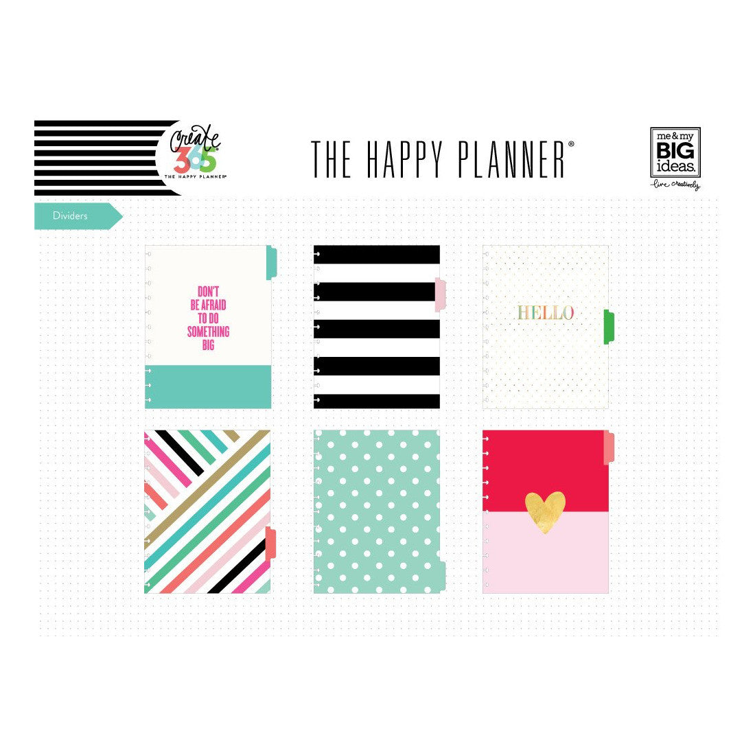 6 MONTH WEEKLY EXTENSION PACK : BIG HAPPY PLANNER