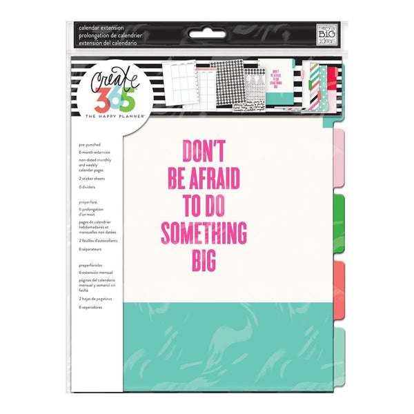 6 MONTH EXTENSION PACK : BIG HAPPY PLANNER