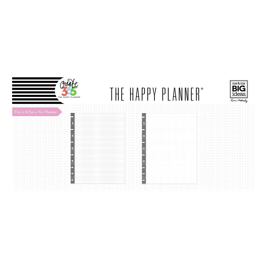 NOTE PAPER - LINED & GRAPH : BIG HAPPY PLANNER