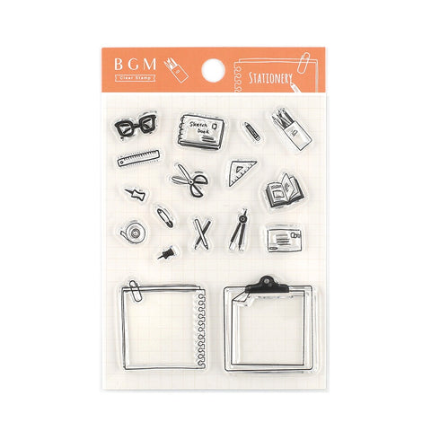 CLEAR STAMPS : STATIONERY