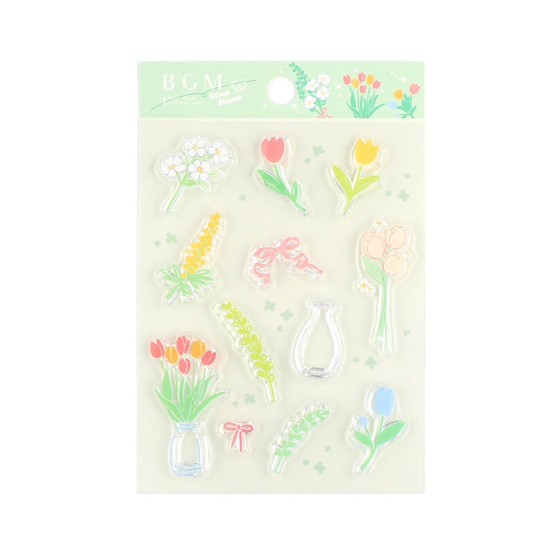 CLEAR STAMPS : FLOWER ARRANGING
