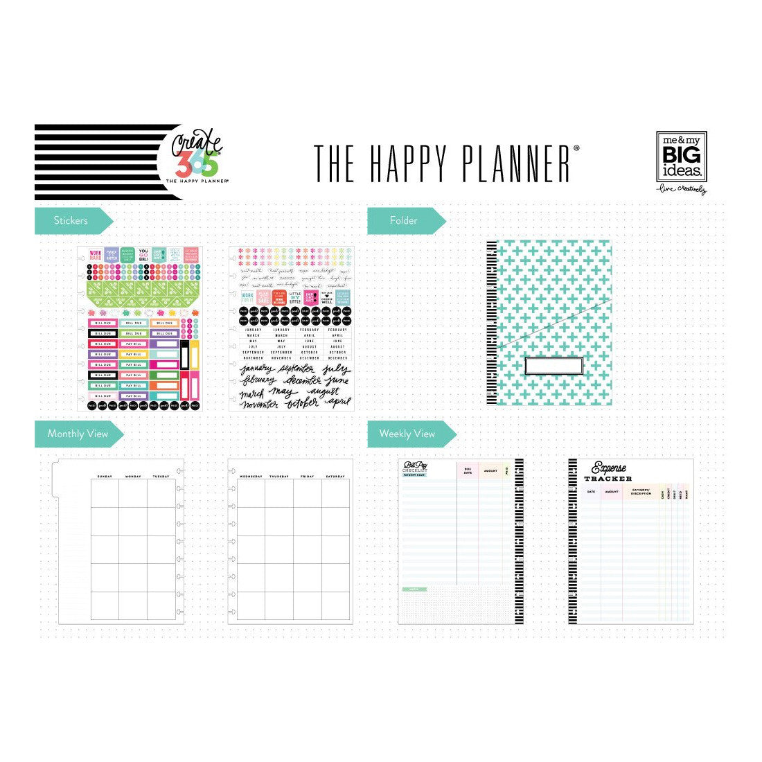 BUDGET EXTENSION PACK - CLASSIC HAPPY PLANNER