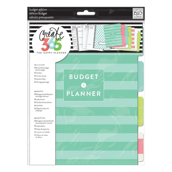 BUDGET EXTENSION PACK : CLASSIC HAPPY PLANNER