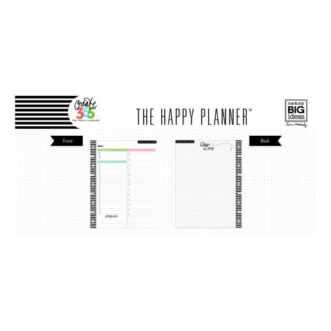 DAILY SHEETS : CLASSIC HAPPY PLANNER