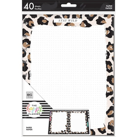 NOTE PAPER - LEOPARD : CLASSIC HAPPY PLANNER