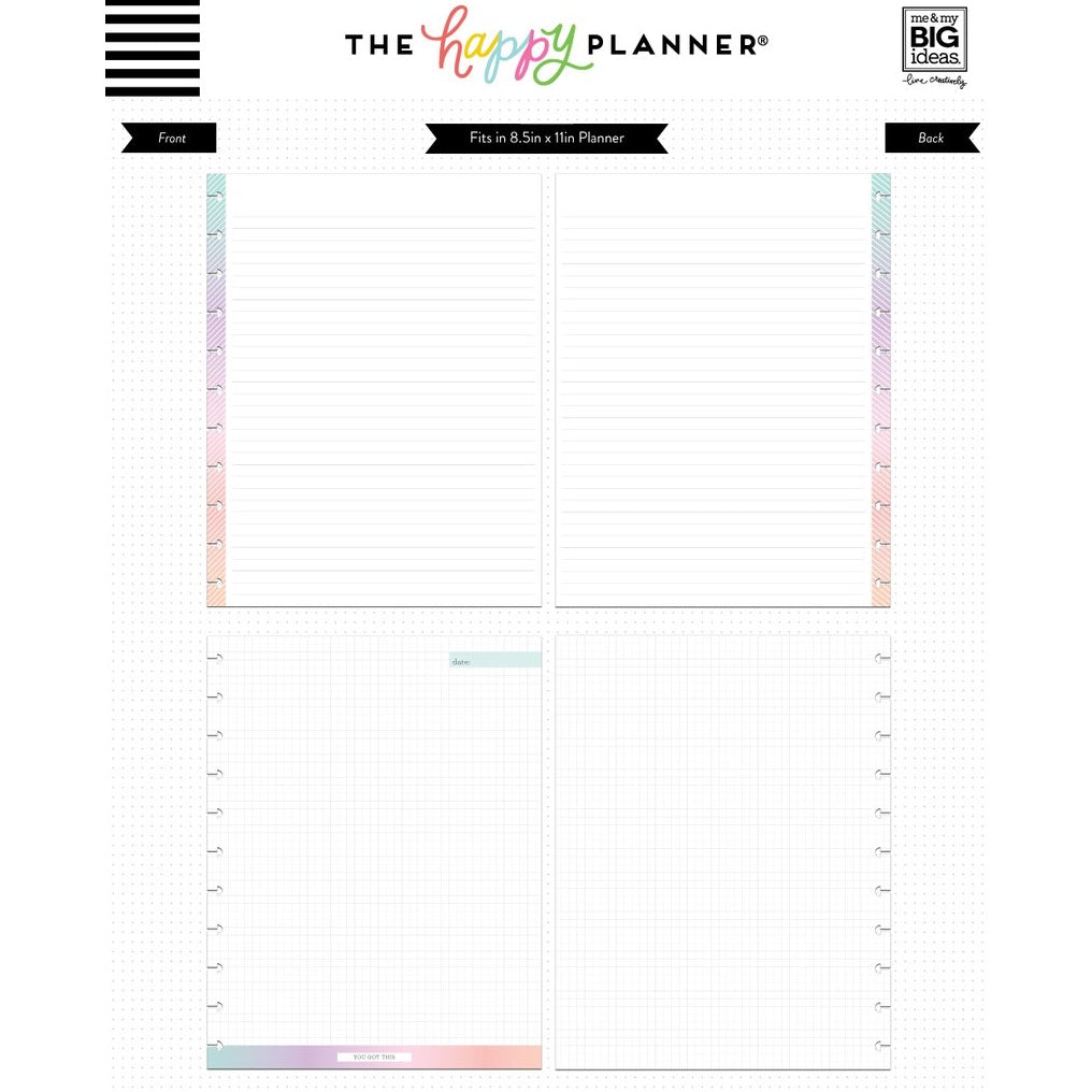 NOTE PAPER - YOU GOT THIS : BIG HAPPY PLANNER