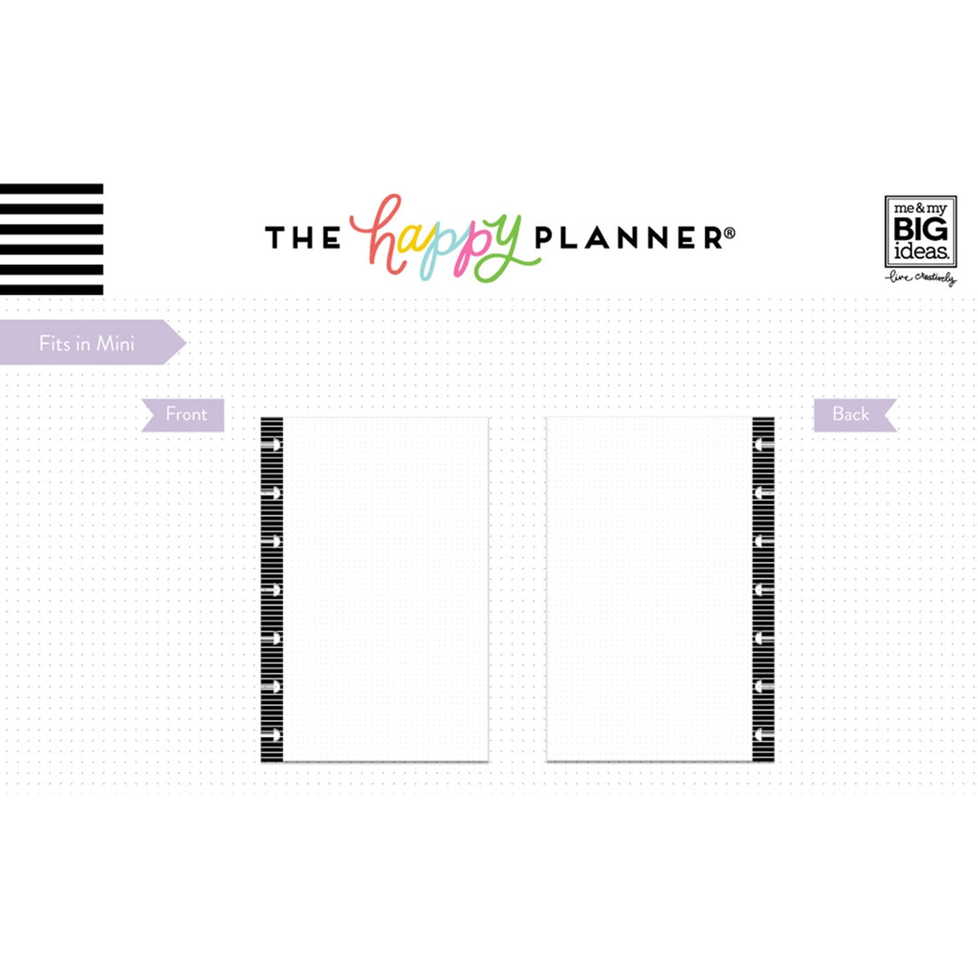 NOTE PAPER - DOT GRID : MINI HAPPY PLANNER