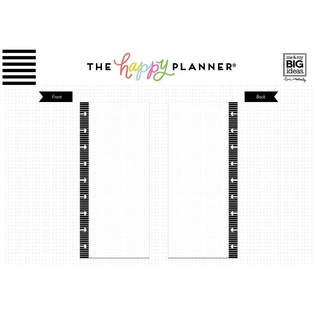 HALF-SHEET NOTE PAPER - DOT GRID : CLASSIC HAPPY PLANNER