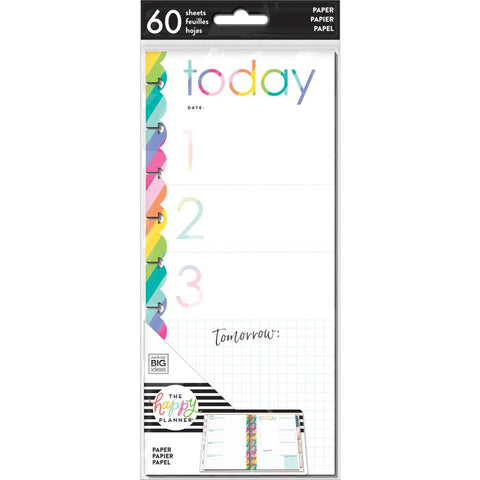 **PRE-ORDER** HALF SHEET NOTE PAPER - TODAY PRIORITIES : CLASSIC HAPPY PLANNER