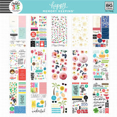 HAPPY MEMORY KEEPING VALUE PACK STICKERS : BIG : SEASONS & HOLIDAYS