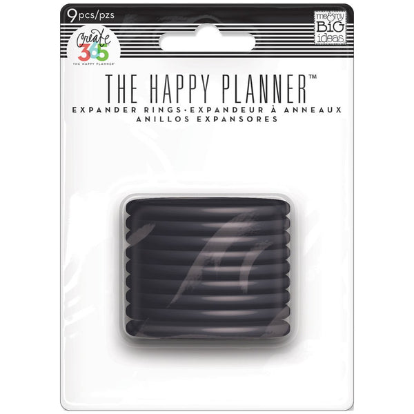 HAPPY PLANNER EXPANDER DISCS : BLACK