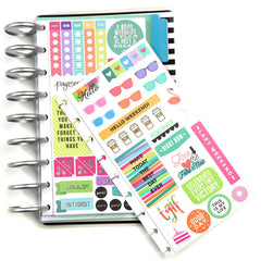 HAPPY PLANNER STICKERS - STICKER BOOK - STORAGE - ME & MY BIG IDEAS