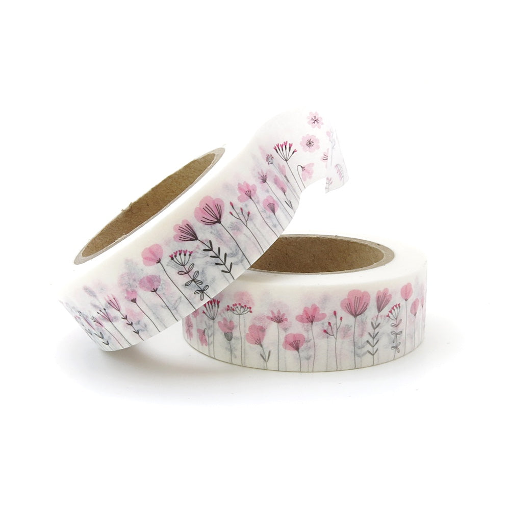 WILDFLOWERS WASHI TAPE