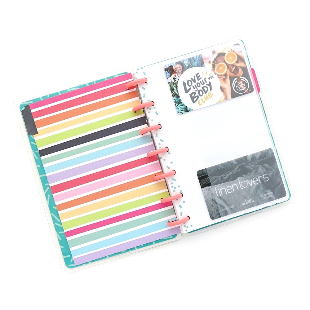 MINI HAPPY PLANNER CLEAR CARD HOLDER