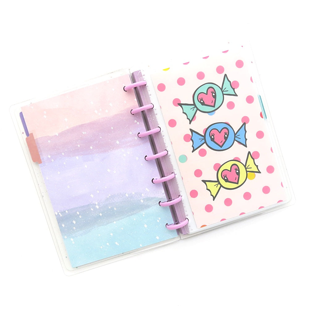 MINI HAPPY PLANNER CLEAR TOP OPENING POCKET