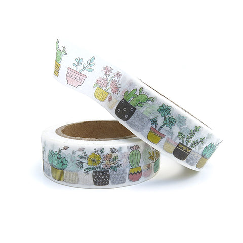 HOUSEPLANTS WASHI TAPE