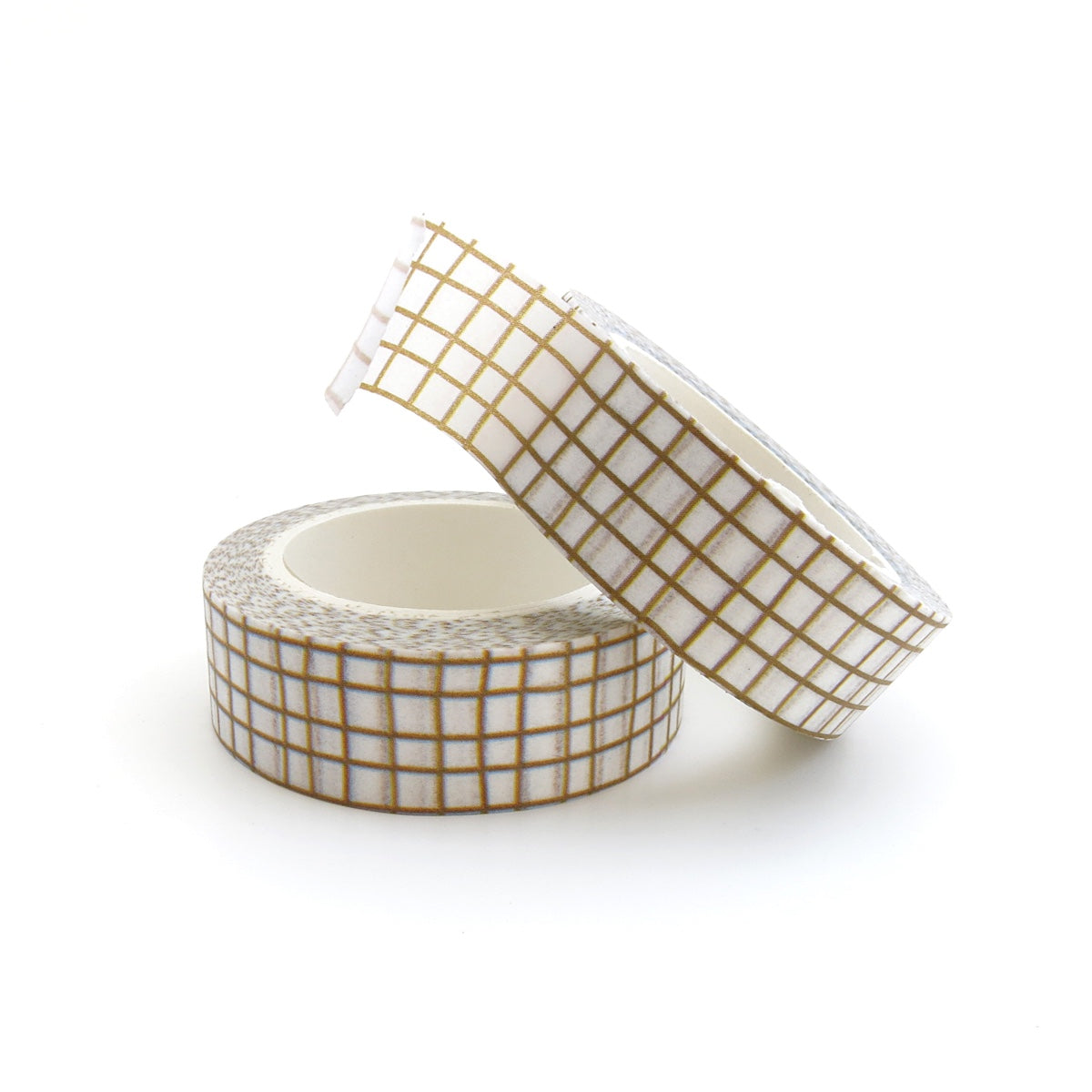 SKETCHY GRAPH WASHI TAPE : OLIVE BROWN
