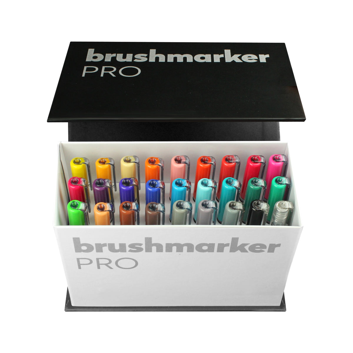 BRUSHMARKER PRO BRUSH PEN MINI BOX : 26 COLOURS + BLENDER