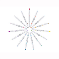 MILDLINER BRUSH PEN SINGLES - 15 COLOURS