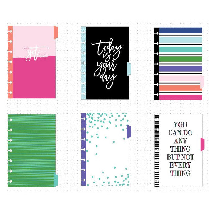 MINI HAPPY PLANNER EXTENSION PACK - DIVIDERS
