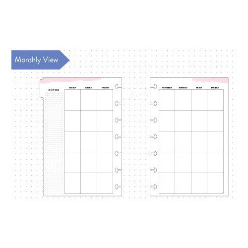 MINI HAPPY PLANNER 6 MONTH EXTENSION PACK - PAGE INSERTS