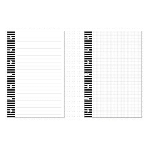 MINI HAPPY PLANNER INSERT - NOTE PAPER - GRAPH PAPER - ME & MY BIG IDEAS