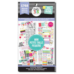 HAPPY PLANNER VALUE PACK STICKERS - MINI - PLANNER BASICS - WASHIGANG AUSTRALIA