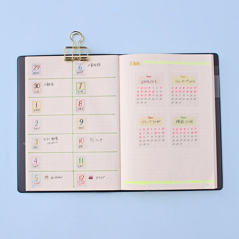 MINI HABIT TRACKER STICKERS
