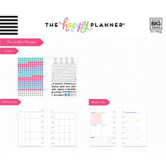 6 MONTH DASHBOARD EXTENSION PACK : MINI HAPPY PLANNER