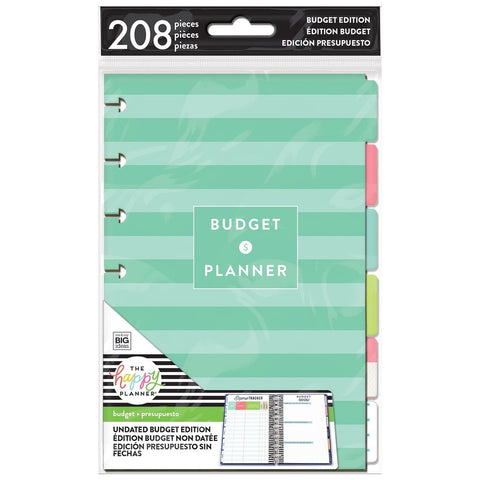 BUDGET EXTENSION PACK : MINI HAPPY PLANNER