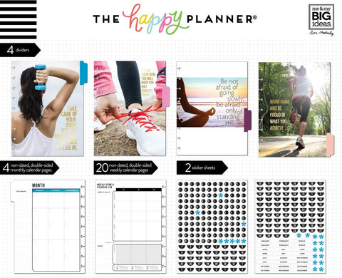 FITNESS EXTENSION PACK : CLASSIC HAPPY PLANNER