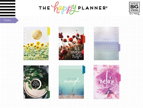 WELLNESS EXTENSION PACK : CLASSIC HAPPY PLANNER