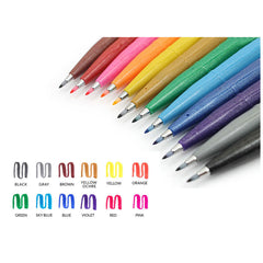 FUDE TOUCH BRUSH SIGN PEN 6PK